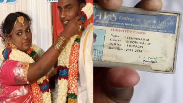 En redes sociales se viraliza la boda de una pareja india, debido al peculiar nombre del novio, quien lleva por nombre Socialism –Socialismo