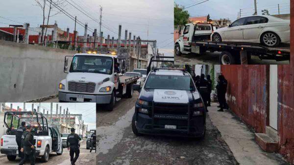 Cancún: Catea FGE taller con vehículos robados en la SM 92