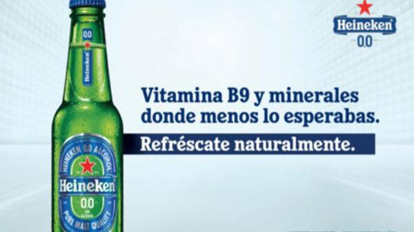 Si te remuerde la conciencia el hecho de que tomar cerveza no te aporta nada bueno, tranquilo Heineken lanzará una opción más saludable