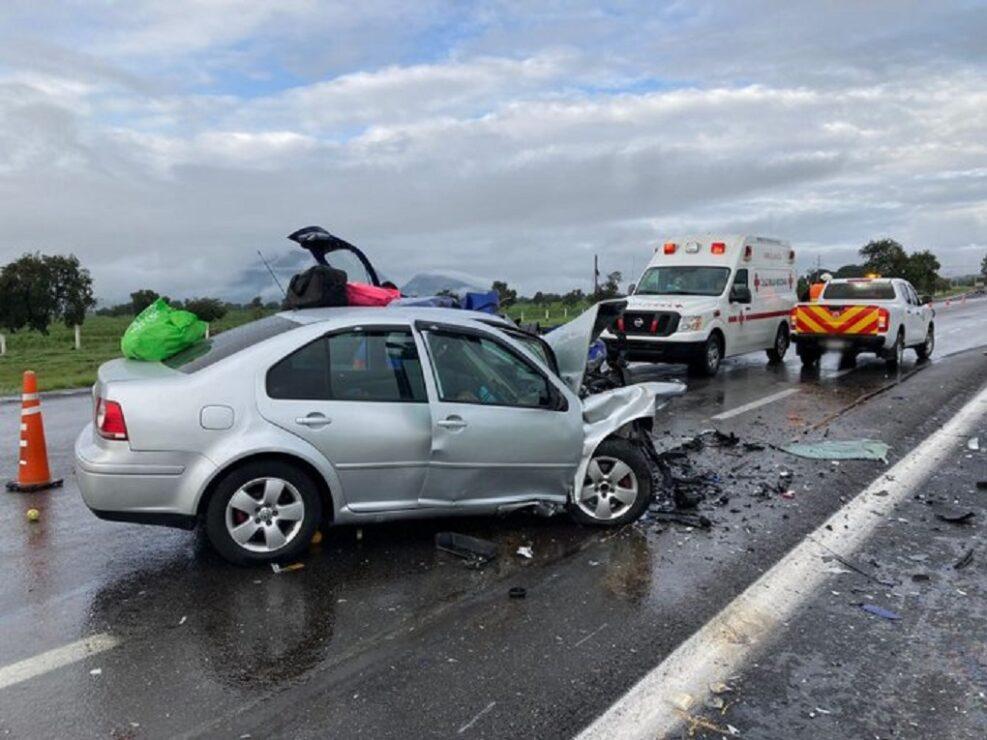 Choque en la autopista Amozoc-Perote cobra la vida de 7 personas.