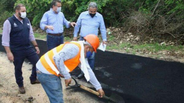 Mérida: A punto de concluir la primera ciclovía pavimentada con polvo de caucho de llantas recicladas
