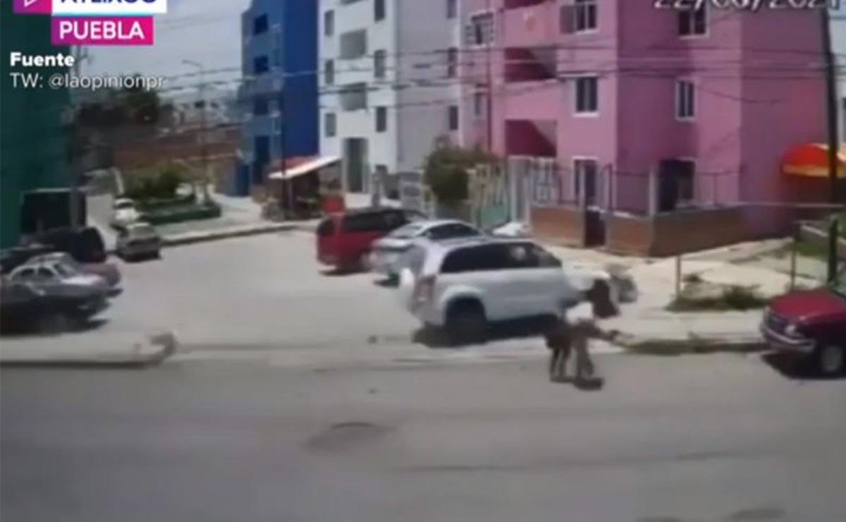 Conductor borracho mata a dos menores tras atropellarlos