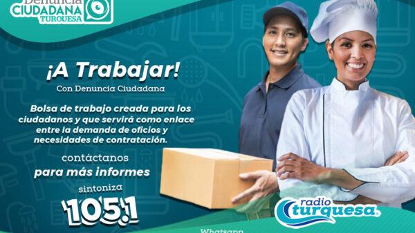 Forma parte de la bolsa de trabajo de Denuncia Ciudadana ¡A trabajar!