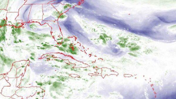 Depresión tropical con altas probabilidades de convertirse en huracán