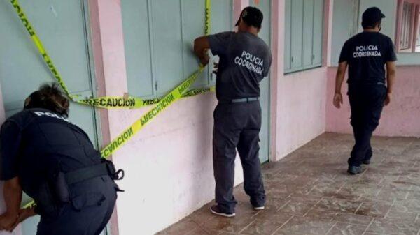 Fuerte operativo por desalojo en Tepakán, luego de que mujer se negara a desocuparlo