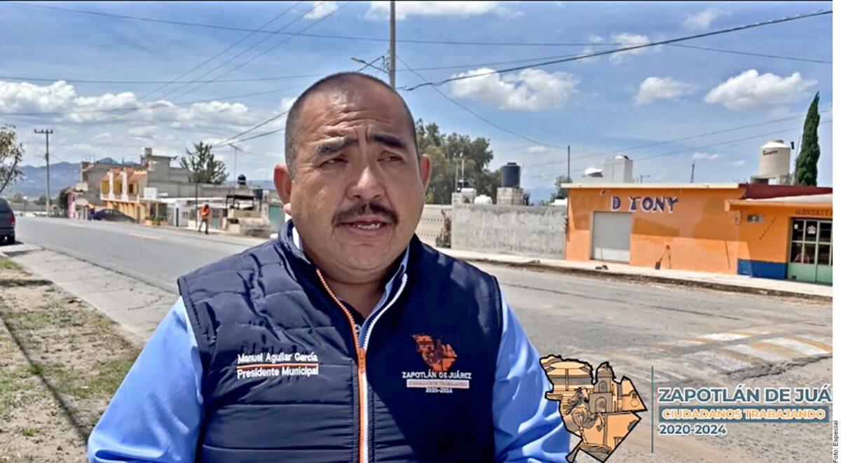 Asesinan a edil de Zapotlán de Juárez, Hidalgo; Manuel Aguilar García arribaba a su domicilio en compañía de su hijo cuando le dispararon.