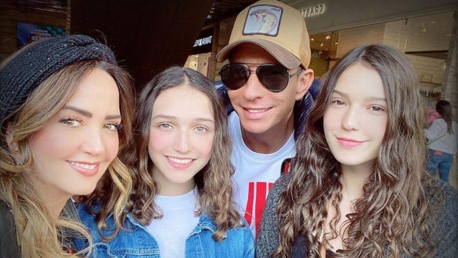Andrea Legarreta y su familia protagonizarán esta película