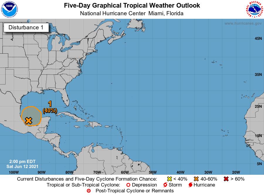 Alertan por posible huracán en las próximas 48 horas