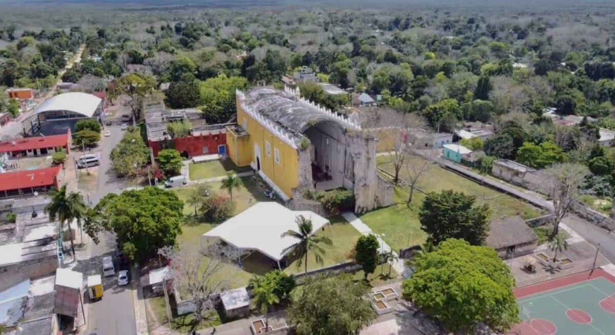 El templo del Niño Jesús fue restaurado por el INAH en diciembre del año pasado.