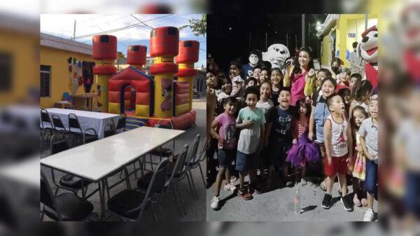 Luego de que los invitados a una fiesta infantil no asistieran, la celebración terminó con cientos de desconocidos que armaron el reventón