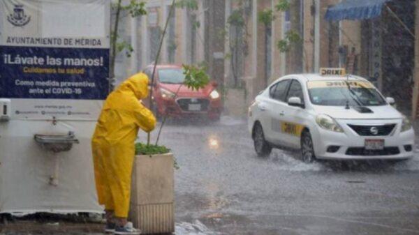 Continuarán lluvias por las tardes en todo el estado de Yucatán