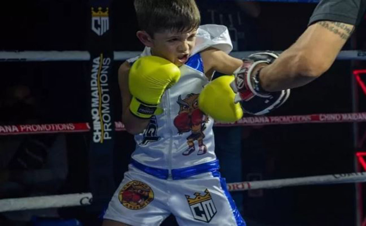 Un niño boxeador se ha convertido en tendencia en las redes sociales, debido a sus habilidades en esta disciplina