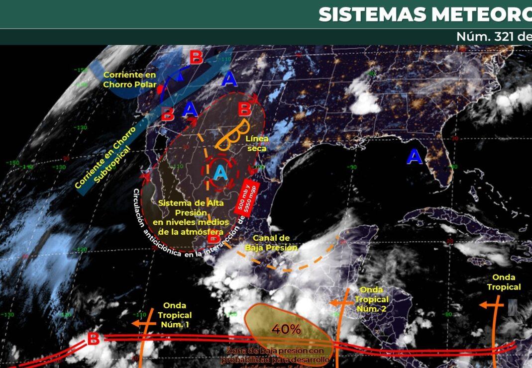 Pronóstico del clima para hoy jueves 10 de junio en Quintana Roo.