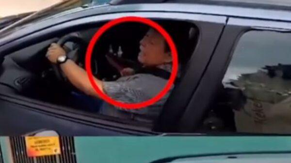 Mérida: Joven pide a conductor que no obstruya la ciclovía y lo amenaza con un cuchillo (Video)