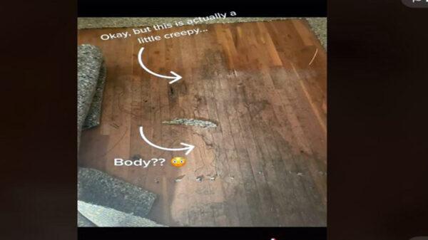 El estremecedor hallazgo de una usuaria de TikTok en su nueva casa se viraliza, pues descubrió que fue la escena de un crimen