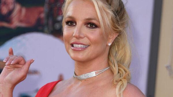 ¡Britney Spears ya se está liberando! Publica foto en topless