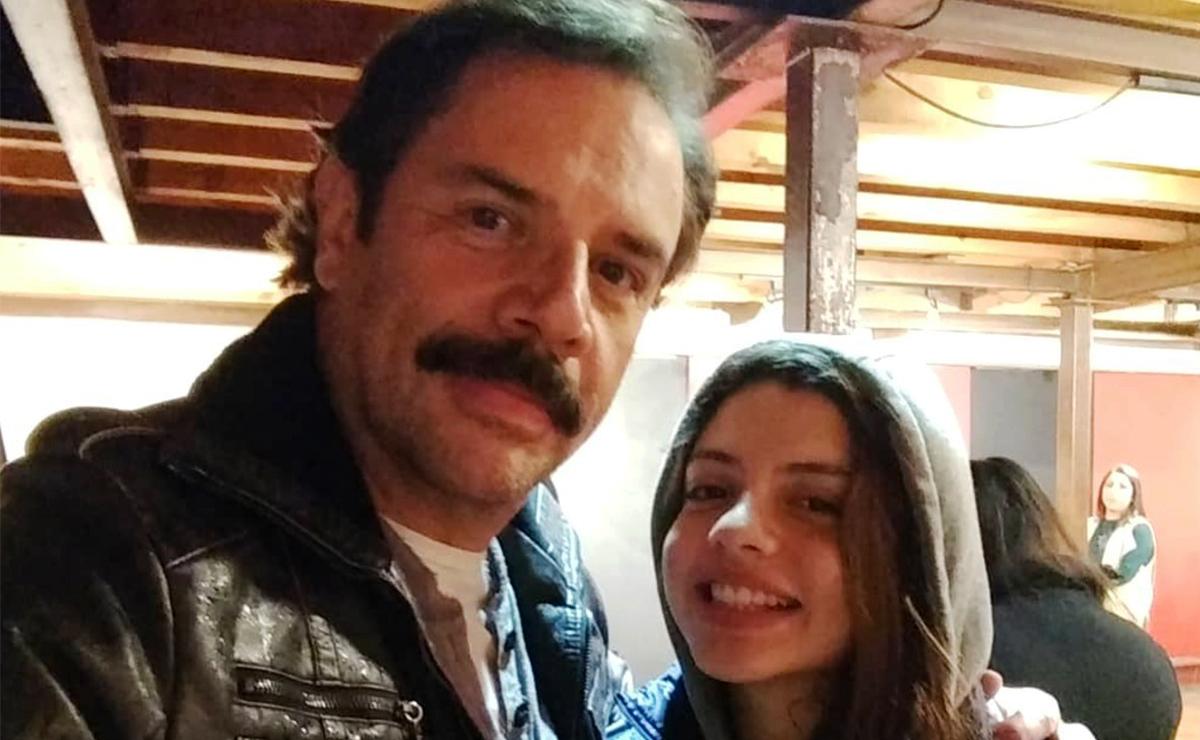 Héctor Parra recibió la visita de su hija Daniela Parra en la cárcel