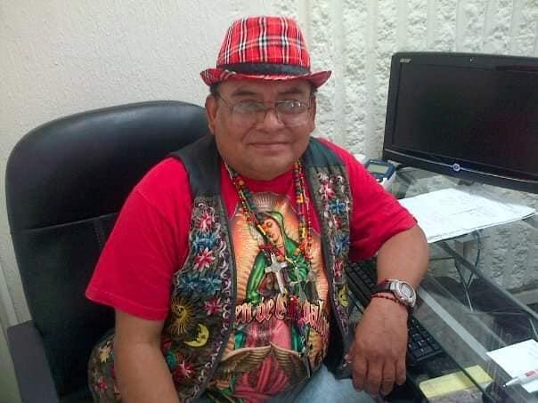 Muere a causa del Covid-19 el periodista Cecilio Balam Ciau.