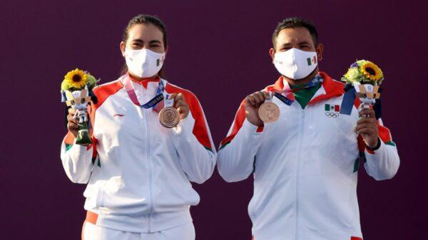 Tokio 2020: Alejandra Valencia y Luis Álvarezgana bronce en tiro con arco mixto, primera medalla para México