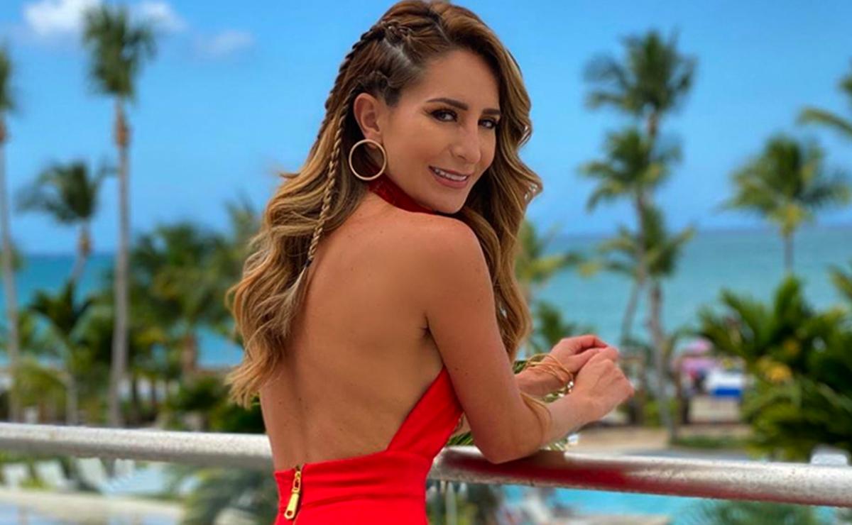 Geraldine Bazán visita Yucatán y causa furor con su look