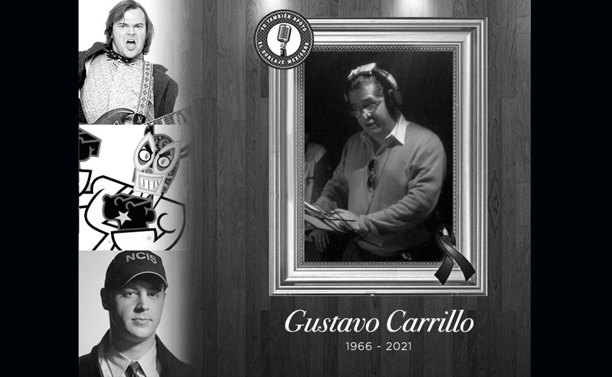 Falleció Gustavo Carrillo, actor de doblaje en 'Escuela de Rock' y 'Ranma ½'