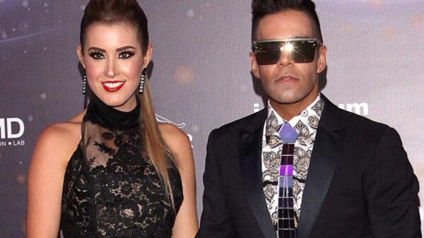 Emir Pabón y su esposa Stefanía de Aranda anunciaron el nacimiento de su bebé