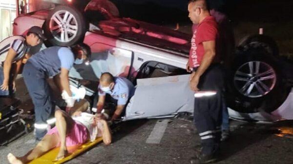 Fallecen dos menores de edad en aparatoso accidente en Chetumal
