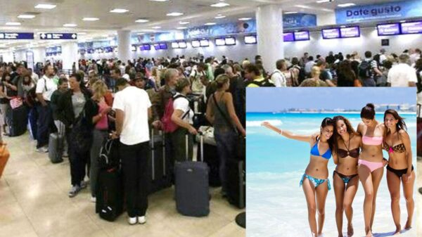 Aeropuerto de Cancún registra 546 operaciones aéreas