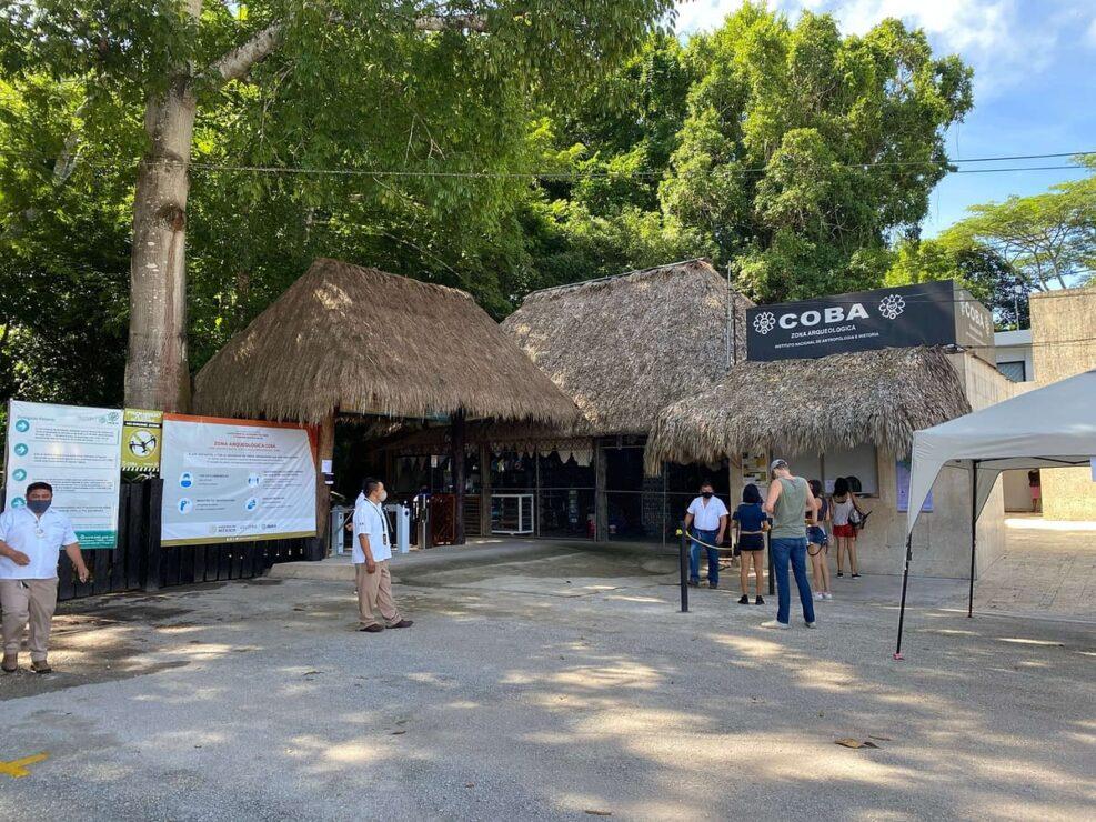 Covid-19: Cierran temporalmente la Zona Arqueológica de Cobá; a partir de hoy y hasta el 4 de agosto no se permitirá el acceso.