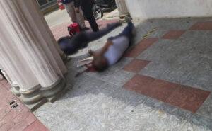 Atacan ayuntamiento de Veracruz; hay un muerto y dos policías heridos