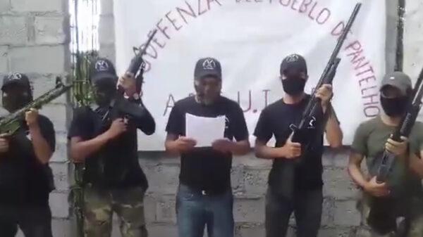Con arsenal robado a la GN, surgen autodefensas chiapanecas