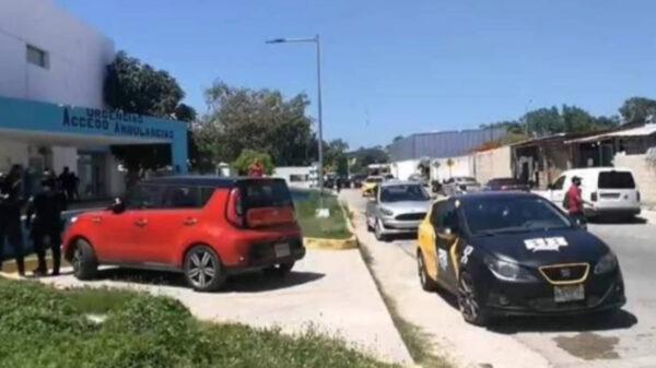 Peliculesca balacera y persecución en Playa Del Carmen causa terror