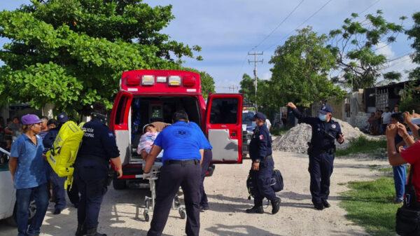 Hombres armados disparan contra sujeto en la 234 de Cancún