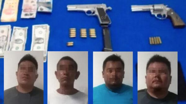 Cancún: Detienen a banda de presuntos secuestradores en la zona hotelera