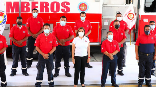 Fortalecen gobierno y sociedad civil al H. Cuerpo de Bomberos de Cancún