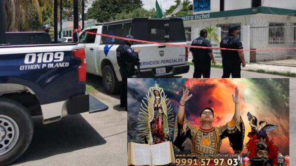 Brujo y asistente son asesinados a golpes en Chetumal