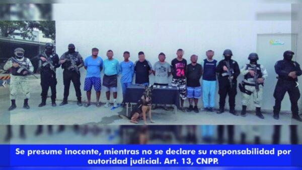 Aplauden empresarios detención de narcomenudistas en Playa Delfines