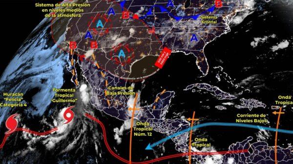 Pronóstico del clima para hoy domingo 18 de julio en Quintana Roo.