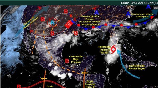 Clima en Quintana Roo hoy martes 6 de julio del 2021.