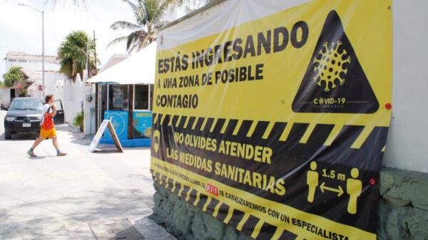 Fortalecen en Puerto Morelos campaña preventiva para enfrentar la pandemia de covid-19