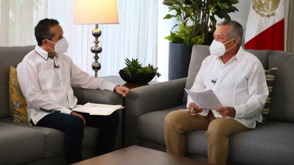 Quintana Roo está entre los 5 primeros lugares a nivel nacional en porcentaje de vacunación: Carlos Joaquín