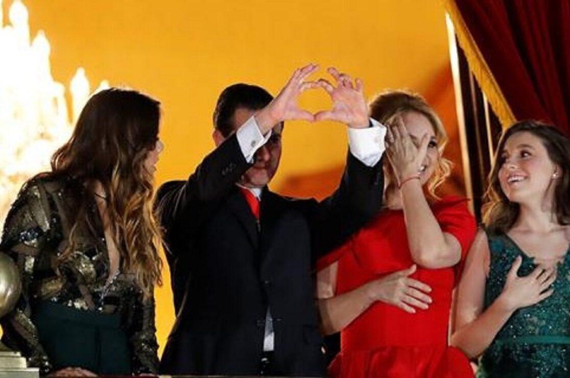 El corazón deforme de Peña Nieto causó memes y risas entre todos, empezando por su familia.