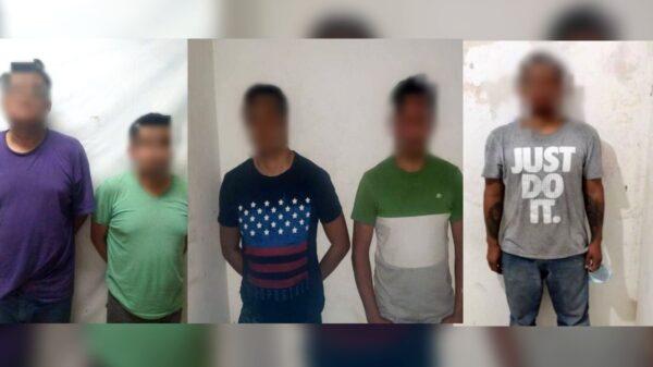 Arrestan a cinco ladrones de tráileres en el Estado de Yucatán