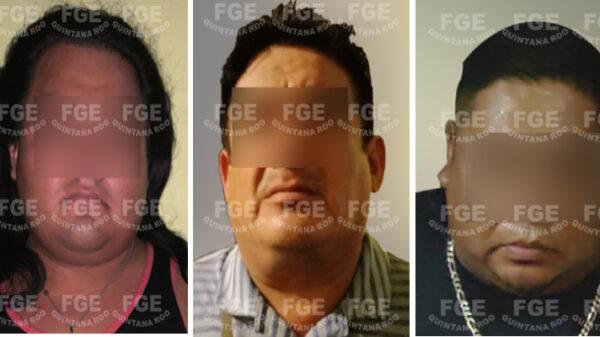 Felipe Carrillo Puerto: Detienen a tres y aseguran drogas en un cateo.