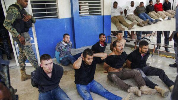 Detienen a 15 colombianos y 2 estadounidenses por homicidio del presidente de Haití