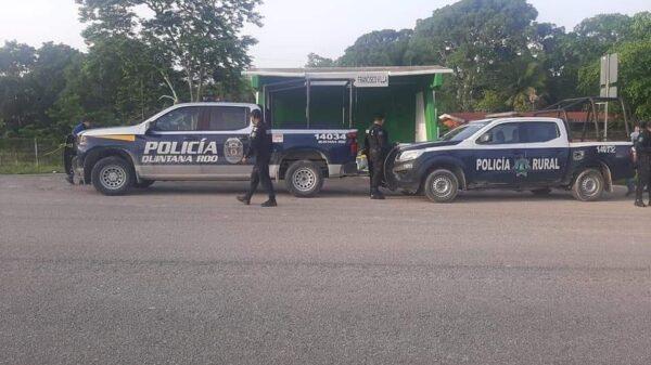 Dejan cadáver embolsado en comunidad del Sur de Quintana Roo.