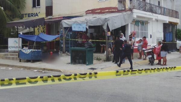 Ejecutan a mujer en Playa Del Carmen por no pagar derecho de piso