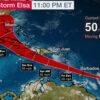 """Avanza tormenta """"Elsa"""" rápidamente, el Caribe en su ruta"""