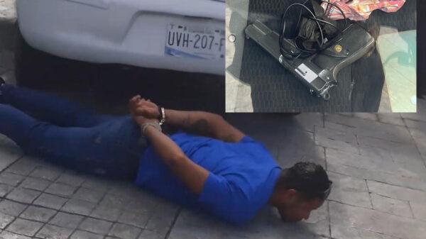 Cancún: Capturan a tres hombres armados en la zona hotelera