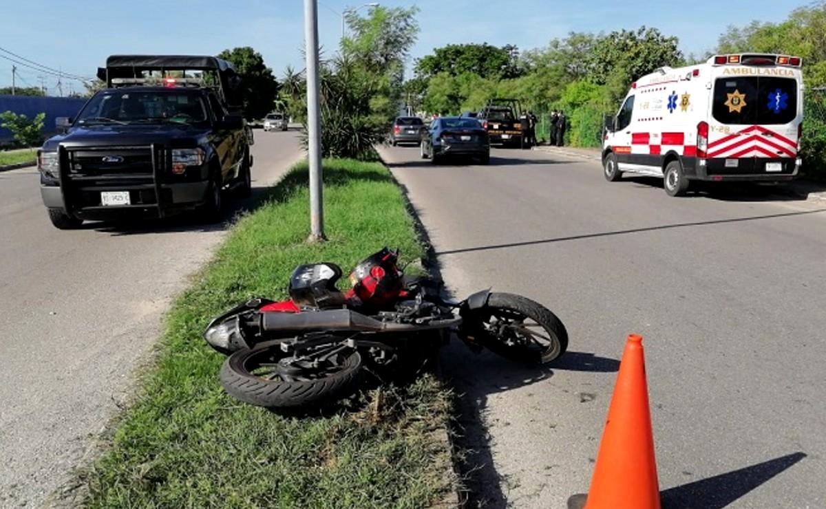 Enfermera es atropellada por camioneta de la SSP al sur de Mérida